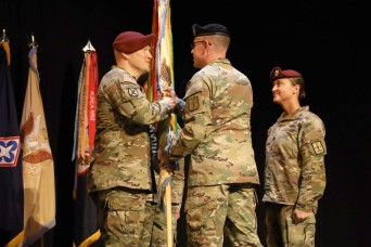 Trost takes command of 262nd Quartermaster Battalion