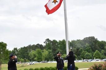 SMDC raises Gold Star Service Flag