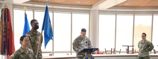 INSCOM HHC change of command ceremony