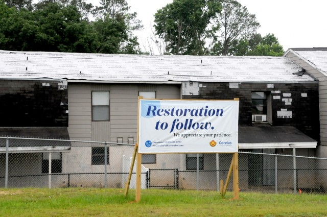 Corvias and Fort Polk's Outyear Development Plan 2 calls for the demolition of 46 homes, including 36 houses on Norris Loop in the Palmetto housing area. That area contains not only the older houses on Fort Polk, but also those most affected by Hurricanes Laura and Delta in 2020.