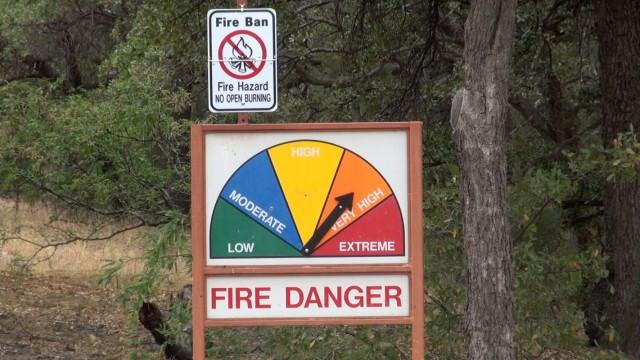 Fort Report: Fire danger soars, post limits outdoor flames