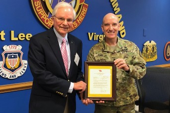 New award recognizes community contributions to Fort Lee