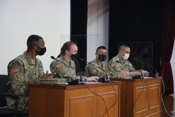 19th ESC Soldiers meet the next generation of Korean Army officers