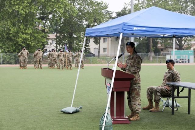 Incoming Commander's Speech