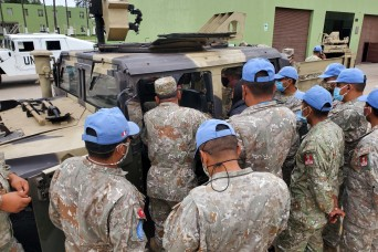 WVNG helps prepare Peru military for peacekeeping mission