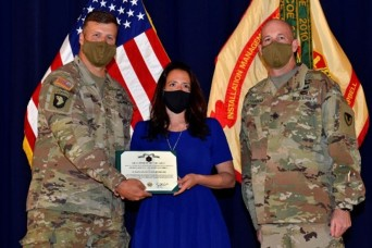 MICC-Fort Campbell civilians sweep 3 categories at annual awards