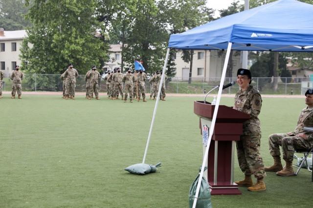 Outgoing Commander's Speech.
