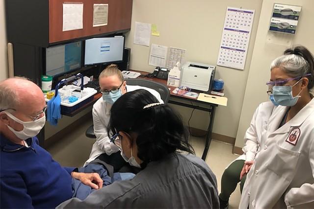 Patient testing