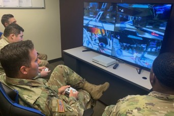 Recovering Soldiers Battle Side-by-Side in 'Call of Duty'