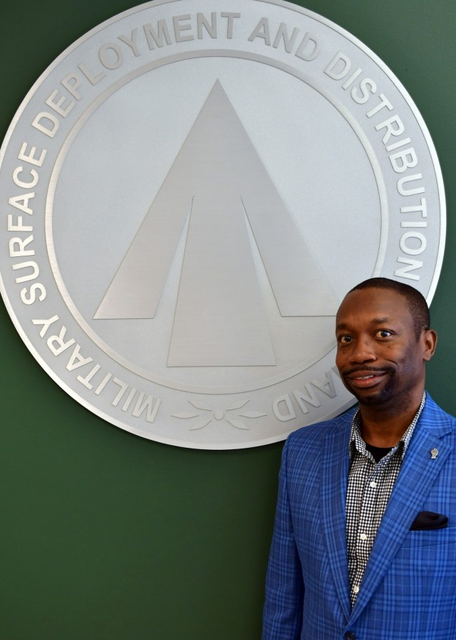 Gary Shuler, a logistics management specialist with the Military Surface Deployment and Distribution Command's Logistics Division, was recently selected to participate in the Office of the Secretary of Defense Sustainment Fellowship Program. (U.S. Army photo by John Orrell)
