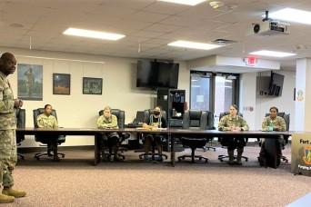 Female mentorship programs begins at Fort Jackson