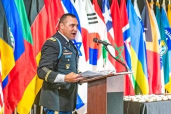 Community hosts sponsor International Military Student success