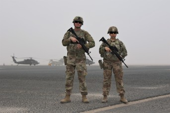 Highway Patrol officers add value on Cal Guard deployment