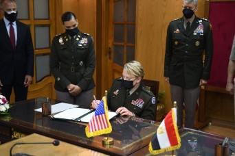 Egypt joins Defense Department's National Guard State Partnership Program