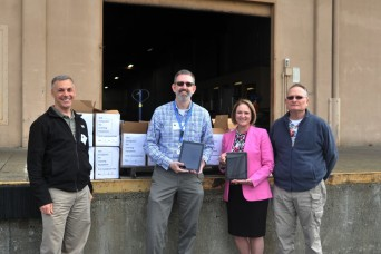 From student to donor: 446th AW member orchestrates nearly 100 iPads for local elementary school