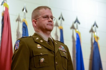 McCartin becomes 6th Regimental CWO of Transportation Corps