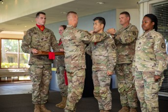 Sea Dragons Recognized For Contributions to Air Defense Artillery