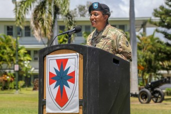 8th Special Troops Battalion welcomes new commander