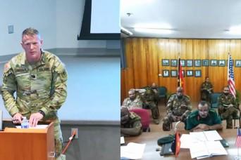 Wisconsin Guard, Papua New Guinea hold virtual workshop