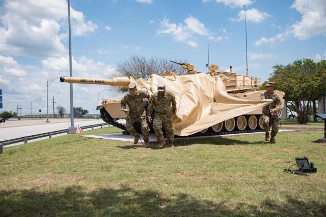 Tank unveiling