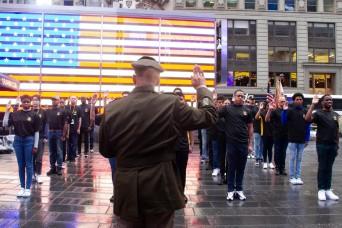 West Point celebrates the U.S. Army's 246th birthday in NYC