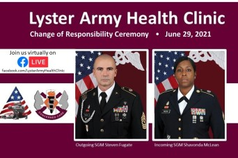 Lyster Change of Responsibility Ceremony