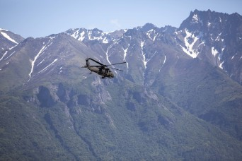 Lost hiker sought by Alaska Guard finds her way to safety