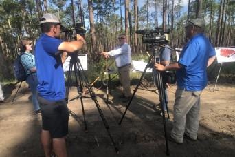 Media Day highlights installation's environmental achievements
