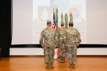 14th Combat Support Hospital cases colors after 17 years on Fort Benning