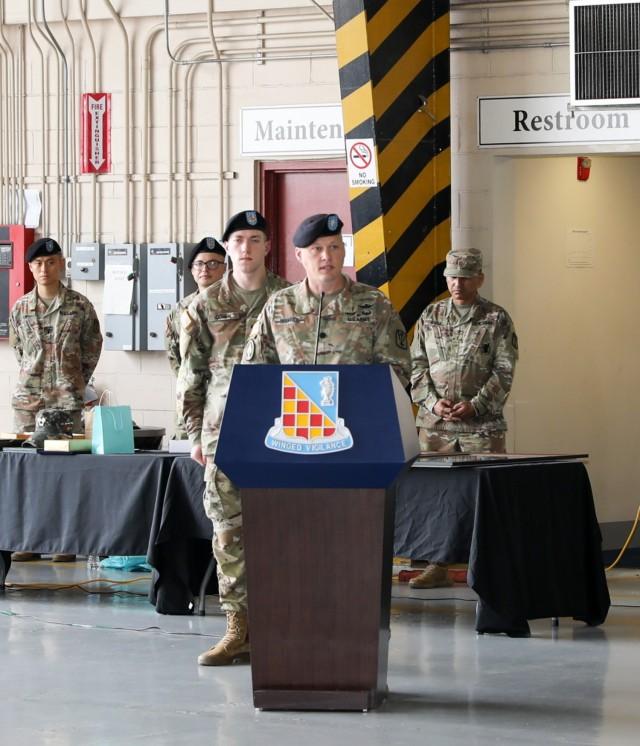 Outgoing Commander's Speech