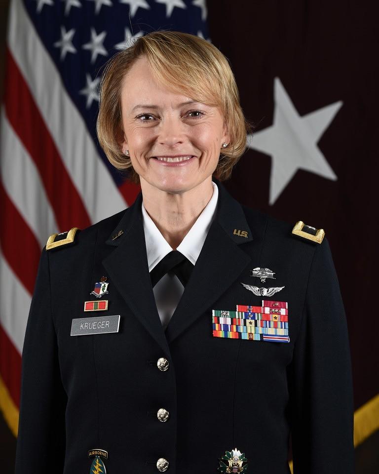 Brig. Gen. Mary Krueger