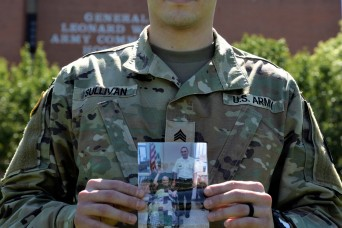 GLWACH Soldier goes Green-to-Gold to honor his grandfather