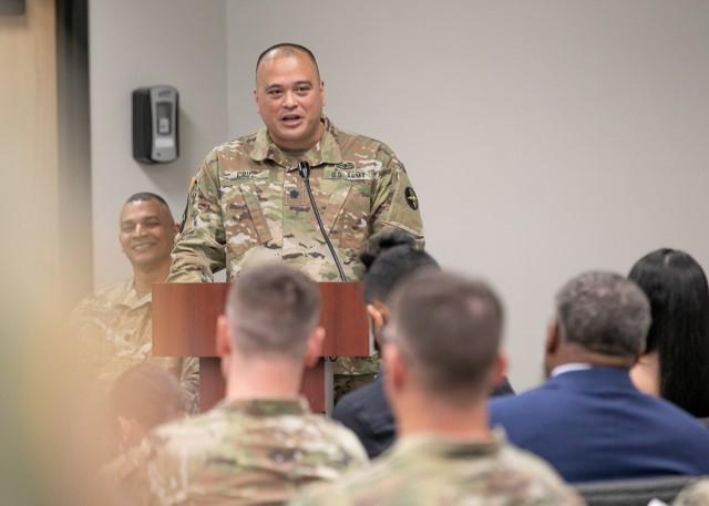 2nd IO Battalion Change of Command Ceremony