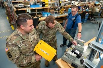 Soldiers tout Tobyhanna as 'top notch' training destination