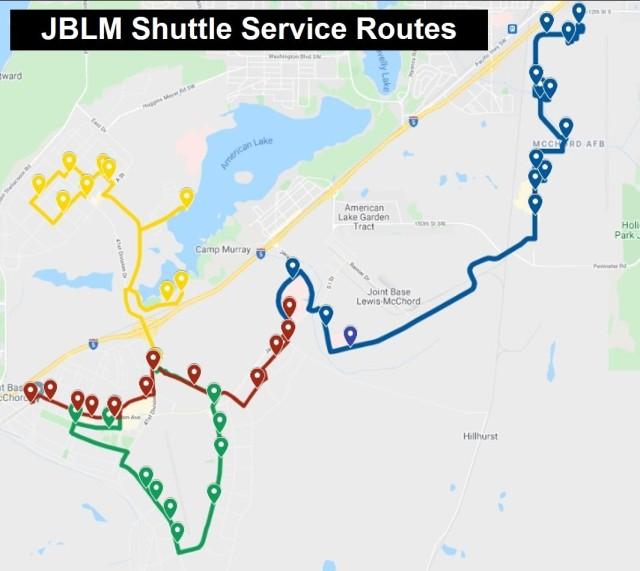 JBLM shuttle service begins operation June 28