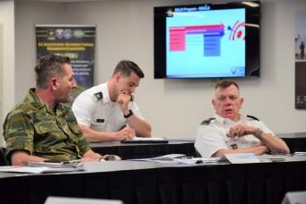 USASAC CG makes inaugural visit to NC headquarters