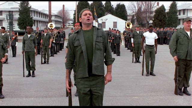 """""""That's a fact, Jack!"""" Actor Bill Murray's character from the iconic movie Stripes tells the cadre that he and his Soldiers are ready to drill to qualify for graduation. The movie was filmed almost exclusively at Fort Knox and nearby Louisville."""