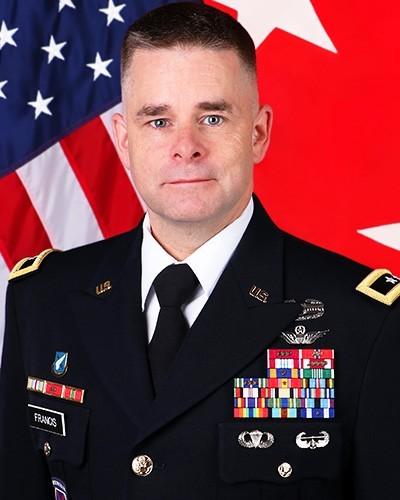 Maj. Gen. David J. Francis