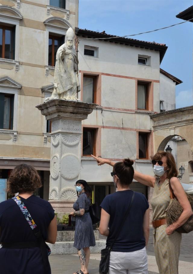 VICENZA, Italy - Carla Torti, guide