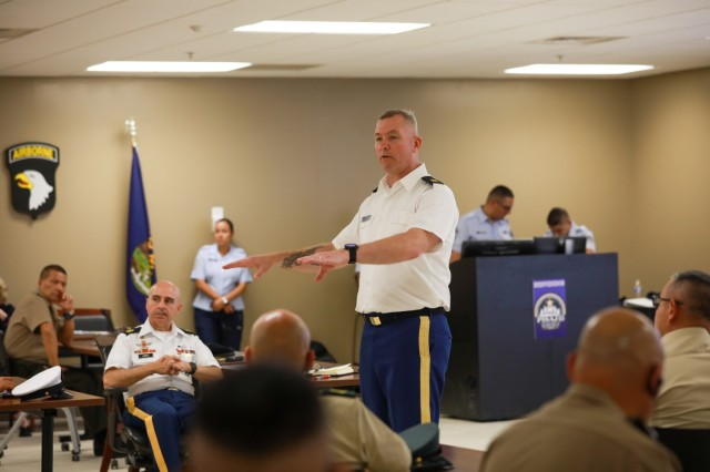 U.S. Army South hosts Colombian Army senior enlisted leaders during PISAJ engagement
