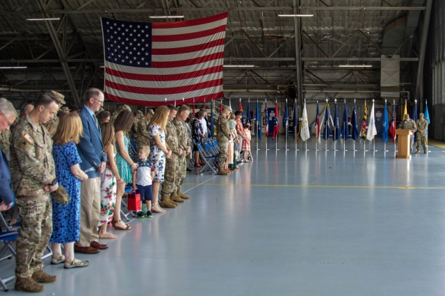 The United States Army Priority Air Transport Command (USAPAT) commemorated the service of LTC Andrew DeForest as its outgoing commander and welcomed LTC Ethan Loeffert as the incoming commander in a Change of Command Ceremony at Joint Base Andrews, Maryland,  June 25, 2021