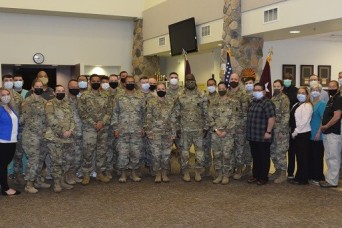 U.S. Army Surgeon General visits McAfee U.S. Army Health Clinic at WSMR