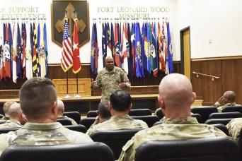 Army IG visits Fort Leonard Wood