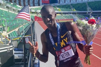 Soldier qualifies for first Olympic Games during record heatwave