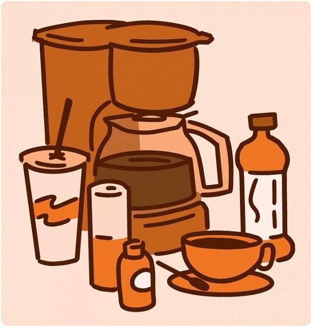 Common caffeine sources