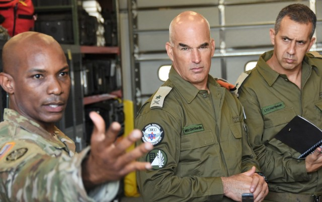NYNG strengthens relationship with Israel's Home Front Command