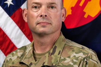 Meet Command Sgt. Maj. Michael P. Meunier II, 1st MSC newest senior enlisted advisor