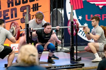 Fort Polk Soldier continues piling up powerlifting wins