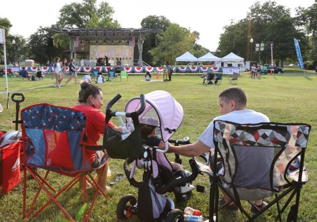 Family enjoys Fort Knox Fourth of July Celebration
