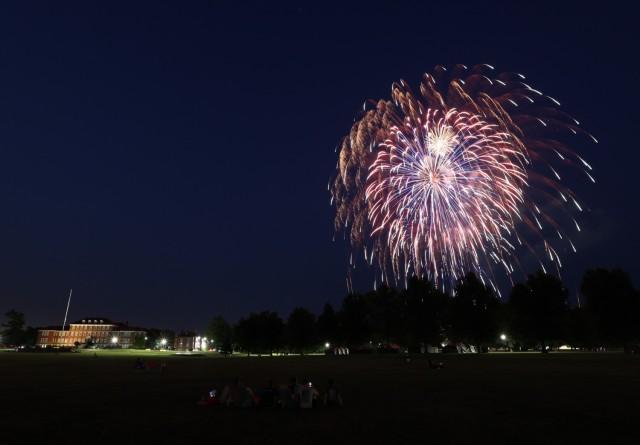 Fort Knox fireworks